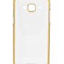 Samsung Galaxy J7 Back Cover Chrome TPU Hard (Gold)