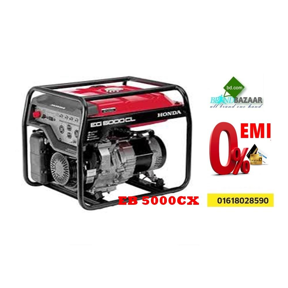 Honda Generator Price Bangladesh | EG 5000CX Portable Generator | Brand Bazaar