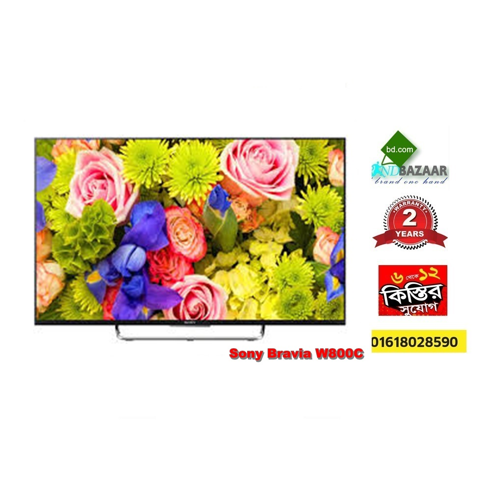 Sony 43 inch W800C BRAVIA 3D Android TV Lowest Price Bangladesh