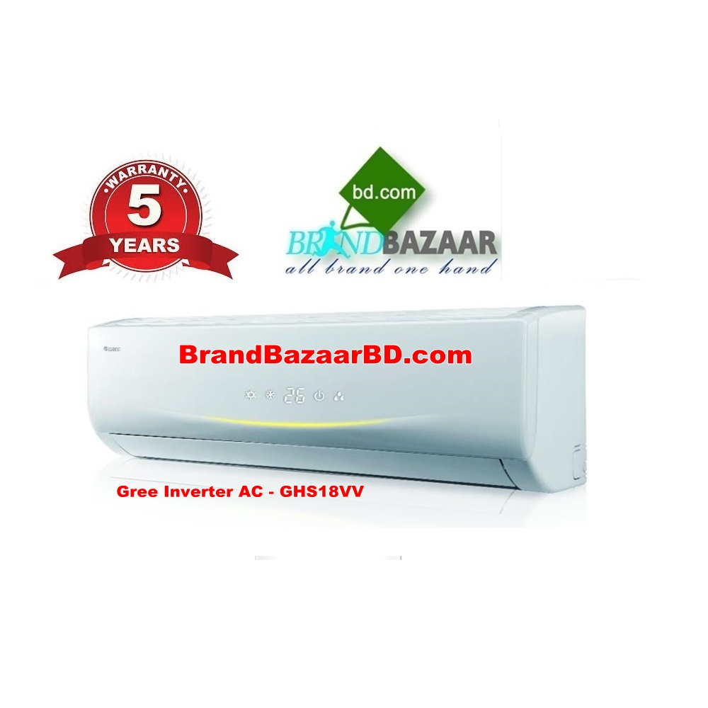 Gree 1.5 Ton Inverter Split Air Conditioner in Bangladesh