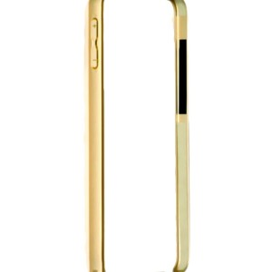 Samsung Galaxy J7 Bumper Luxury Metal Bumper Cover Case Gold