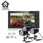 4Channel DVR With 03 Units CCTV Camera with Monitor
