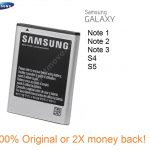 Original Samsung Galaxy Note 1, Note 2 Note 3, S4, S5, Neo Battery Price Bangladesh
