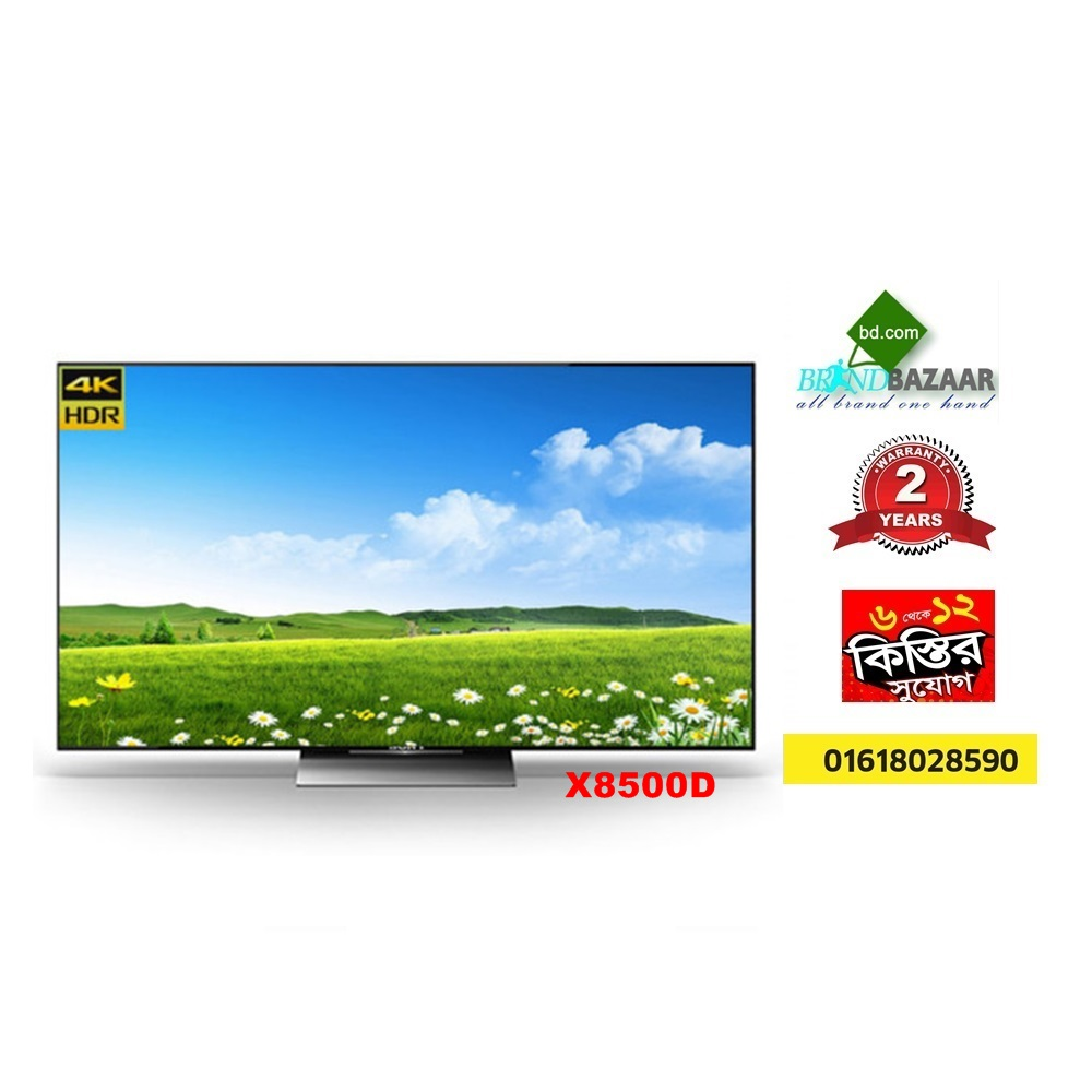 Sony Bravia 55 inch 4K Ultra X8500D High Definition LED Smart TV