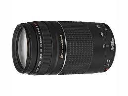 Canon EF 75-300mm Digital SLR Camera Lens