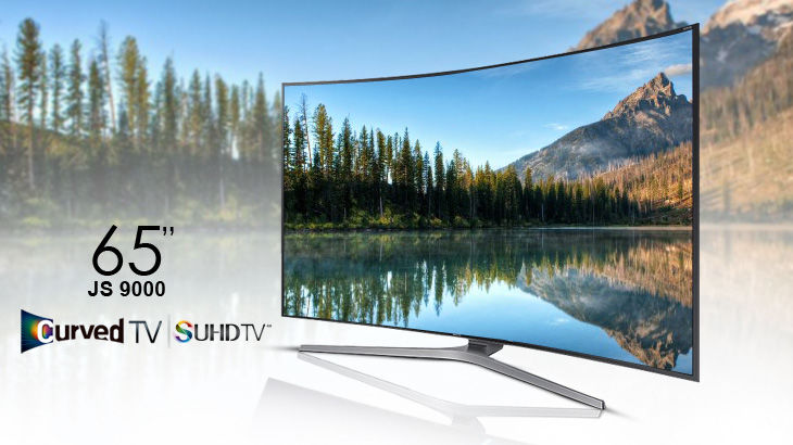 Samsung 4K Led TV JS9000 65 inch 3D Smart Curved SUHD 4K Nano Crystal TV
