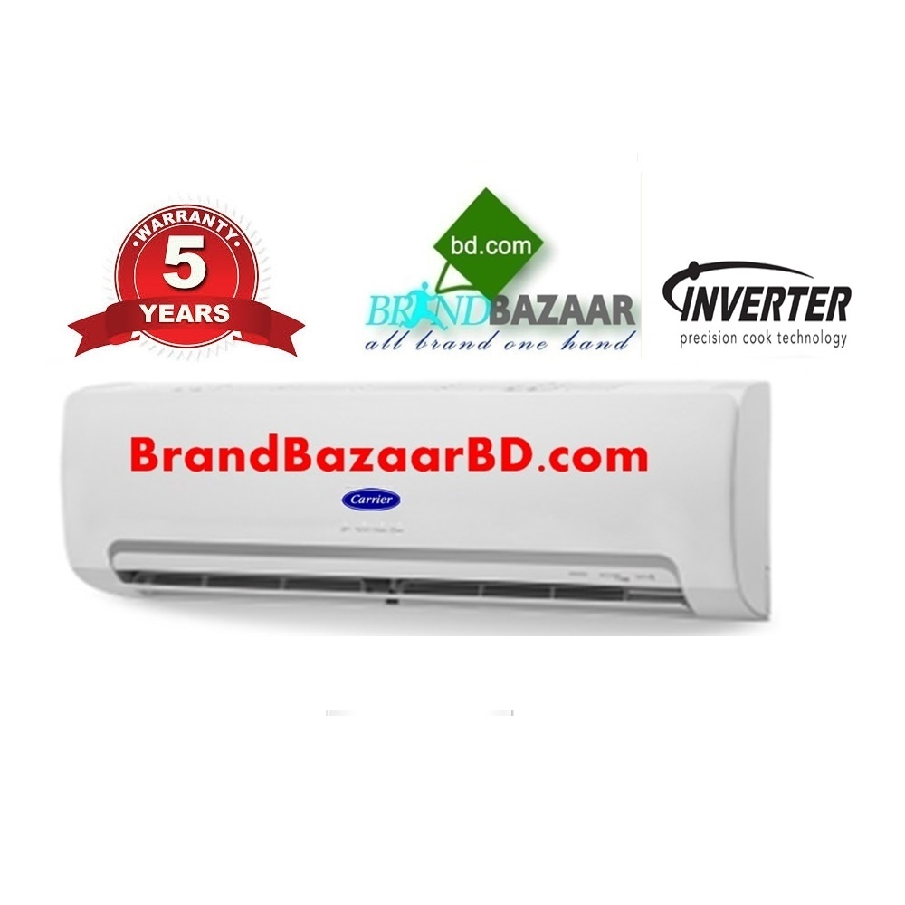 Carrier Inverter AC Price in Bangladesh - Carrier 1.5 Ton 18000 BTU Split Air Conditioner