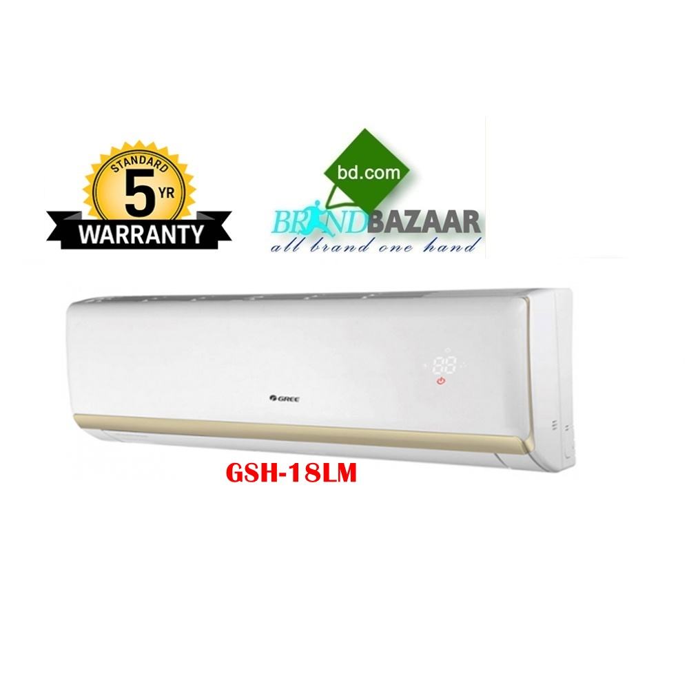 Gree 1.5 Ton GS-18LM 410 Gas Split Air Conditioner