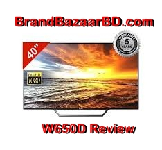 Sony W650D Smart Led Review
