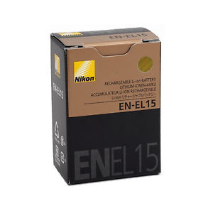 Nikon Camera Battery Price in Bangladesh - Nikon EN-EL15 rechargeable battery