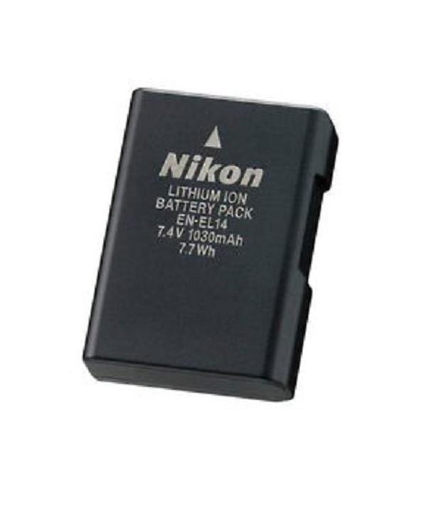 Nikon Camera Battery Price in Bangladesh – Nikon EN-EL14 Rechargeable Battery