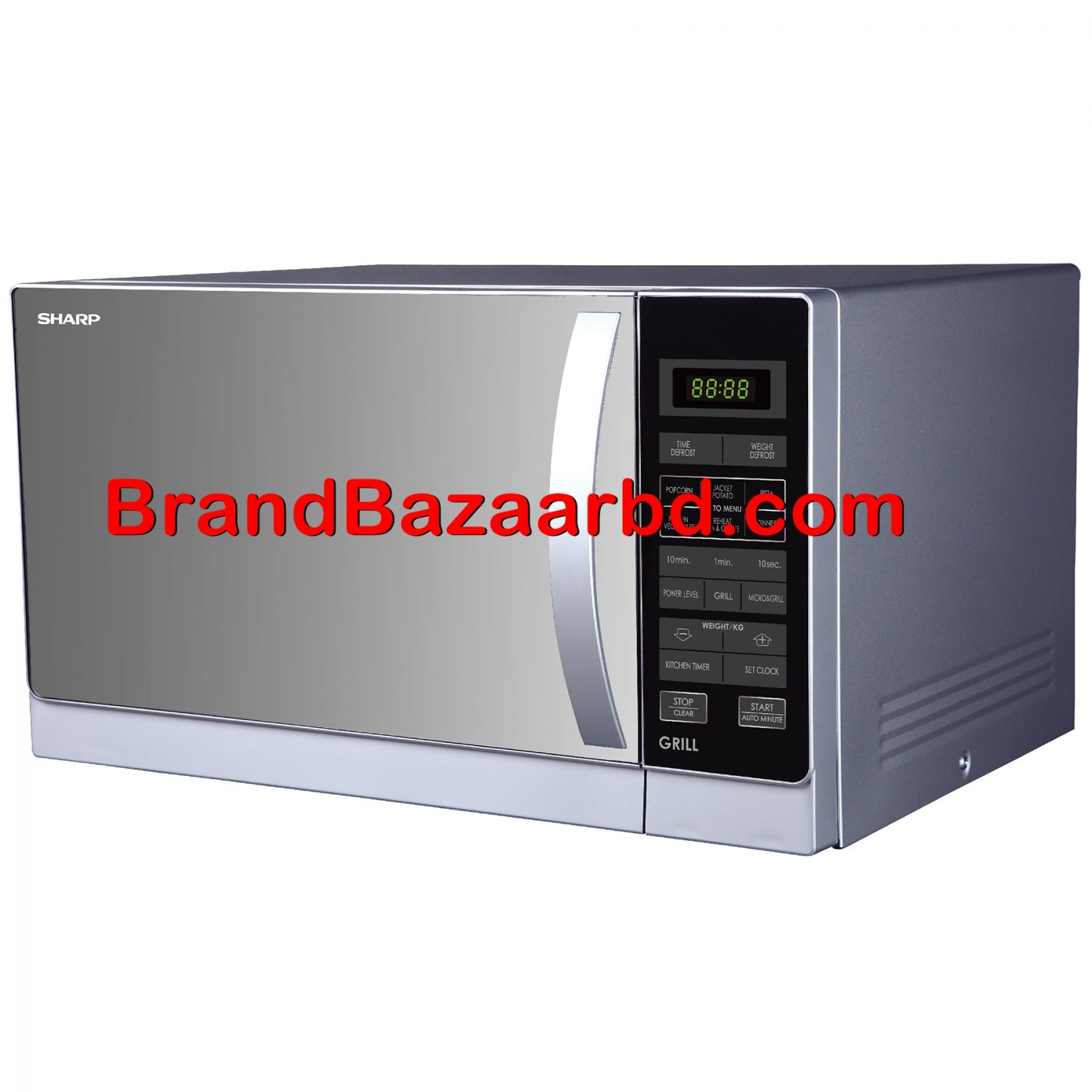 Sharp Microwave Oven Price in Bangladesh - Sharp R-72A1(SM)V 25-Liter