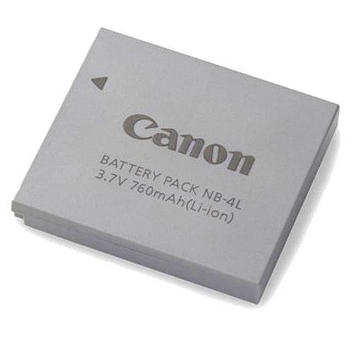 Canon Camera Battery Price in Bangladesh – Canon NB-4L Rechargeable Battery