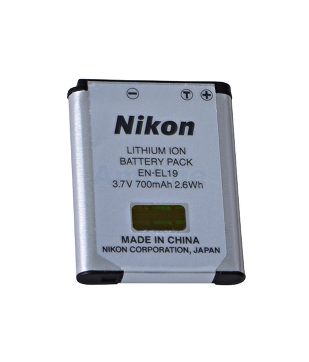 Nikon Camera Battery Price in Bangladesh – Nikon EN-EL19 Rechargeable Battery