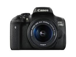 Canon EOS 750D DSLR Camera 18-55mm Lens