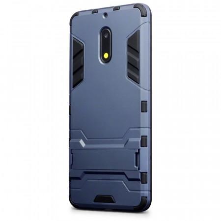 new concept 1ebc7 01fe4 Nokia 6 Ironman Armor Shield Case