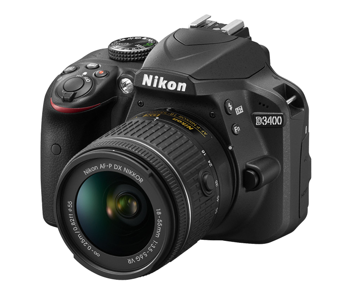 Nikon D3400 DSLR with 18 55 mm lens price in Bangladesh