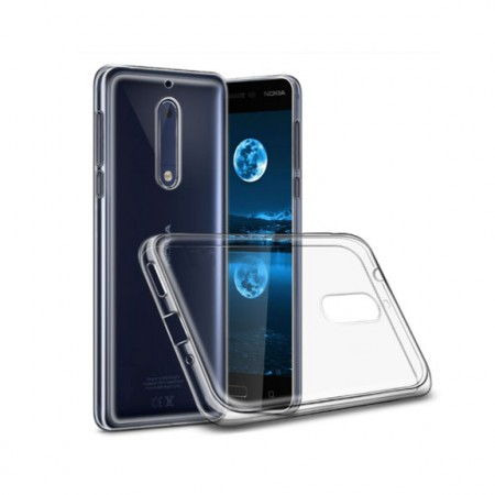on sale 75f5d 998b5 Nokia 5 Transparent Back Cover