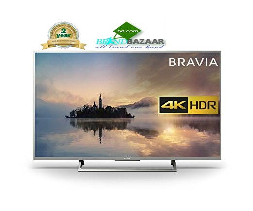 Sony 4K Smart 43X800E Slim LED TV