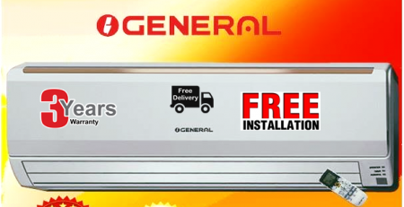 General AC Showroom Price in Bangladesh