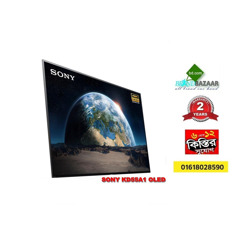 SONY 65 inch KD65A1 OLED 4K TV Smart Ultra HD HDR