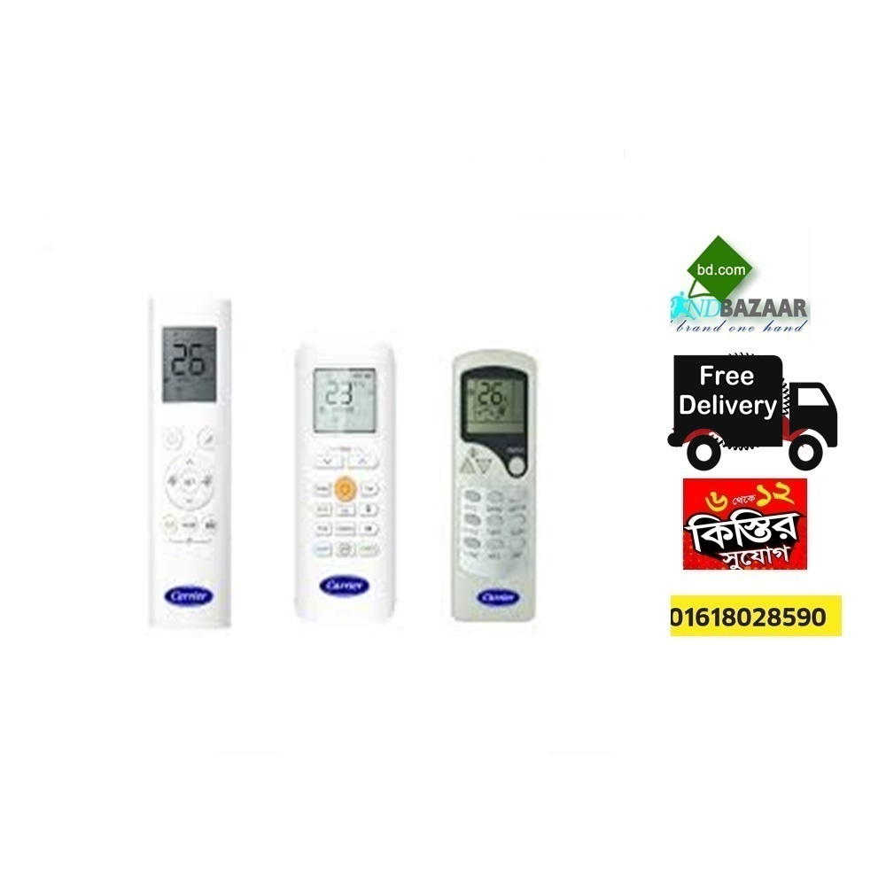 Carrier AC Remote Price in Bangladesh   Carrier AC Showroom