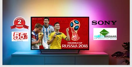 বিশ্বকাপ ২০১৮ খেলা দেখুন SONY টিভিতে | Upto 55% DISCOUNT