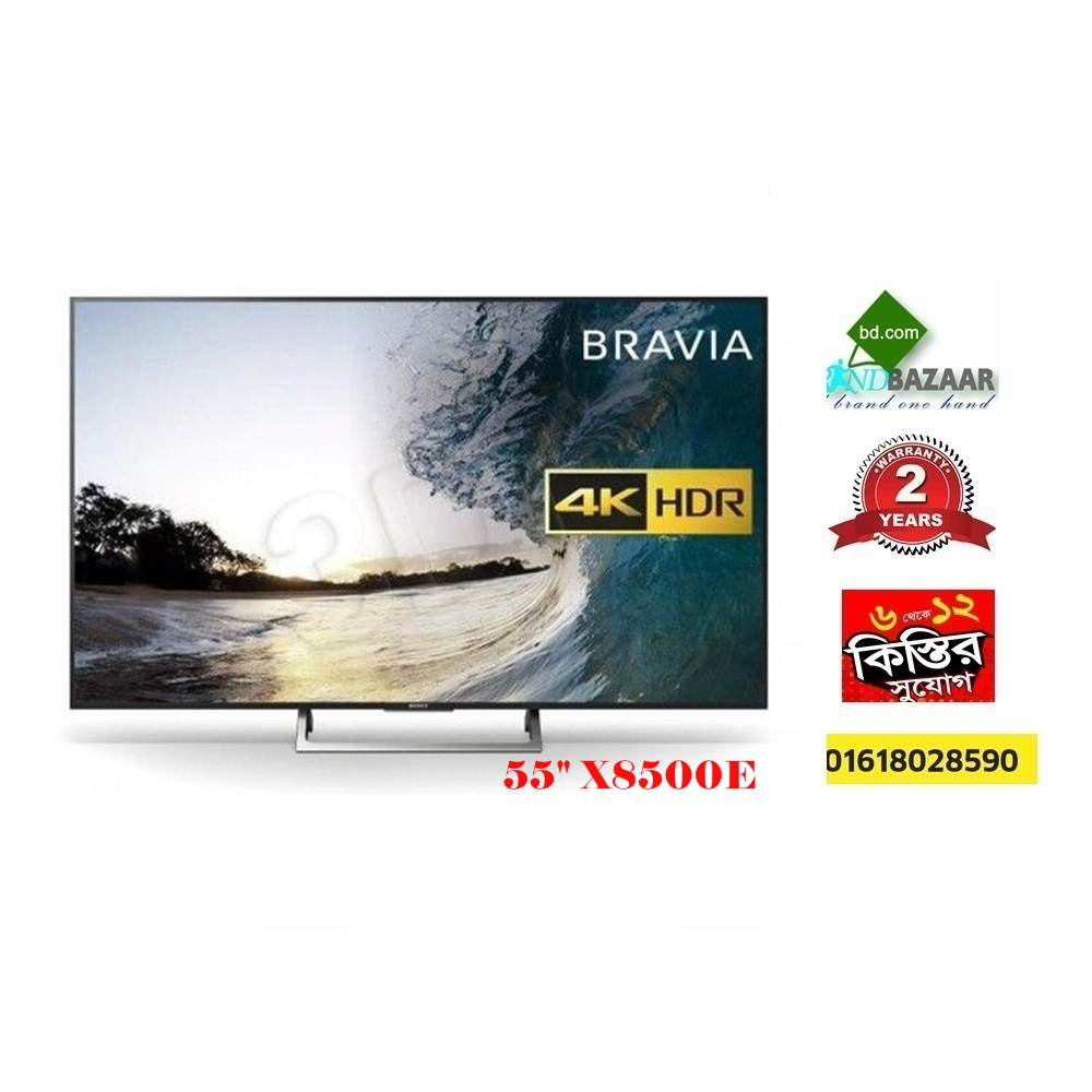 Sony 55 inch 4K TV Price in Bangladesh | X8500E
