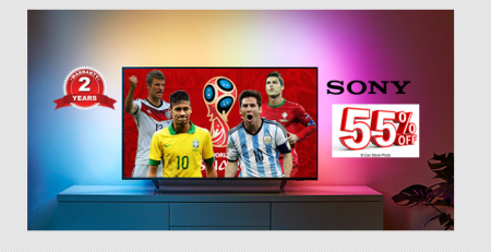FiFa World Cup Special Offer | Sony Bravia TV showroom