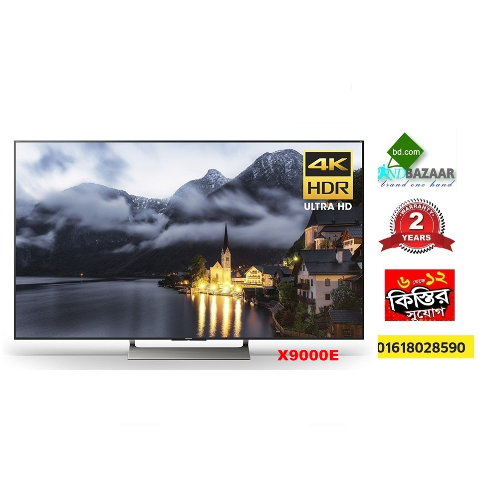 "Sony 75"" 4K Ultra HD Smart TV Price in Bangladesh 