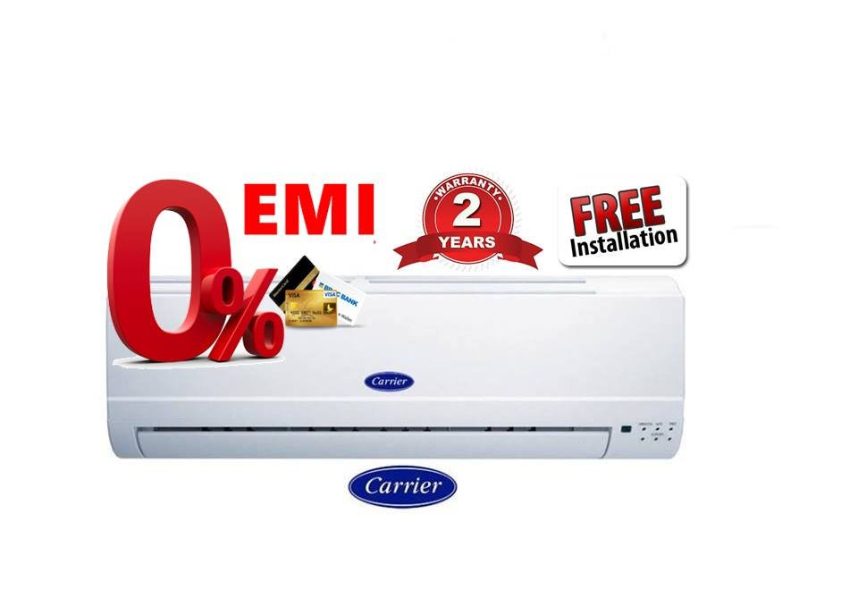 2.5 Ton AC Price in Bangladesh | Carrier Split AC Showroom