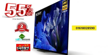 Sony 2018 Model TV Showroom Price list in Bangladesh