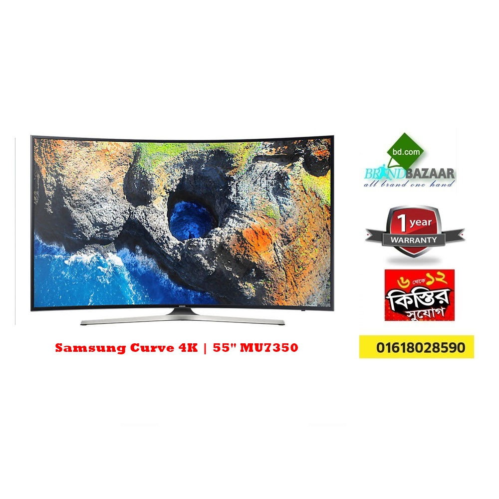 "Samsung 55"" Curved 4K Smart TV Price in Bangladesh 