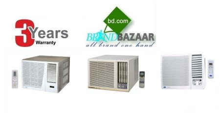 1.5 Ton 18000 Window AC Price in Bangladesh | General Carrier Gree