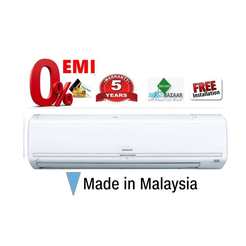 Hitachi 1.5 Ton AC Price in Bangladesh | Split Air Conditioner RAS F18CF