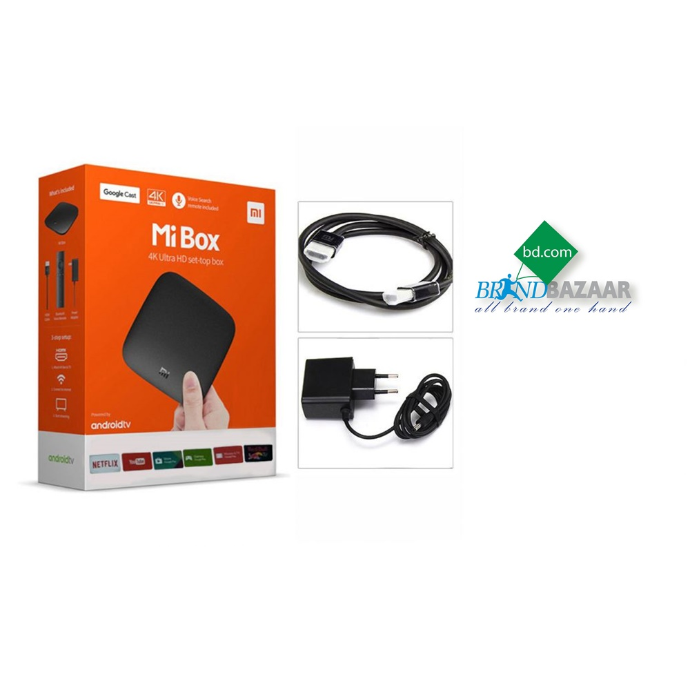 Xiaomi Mi Box 3 Android 4K TV Box (Global Version)
