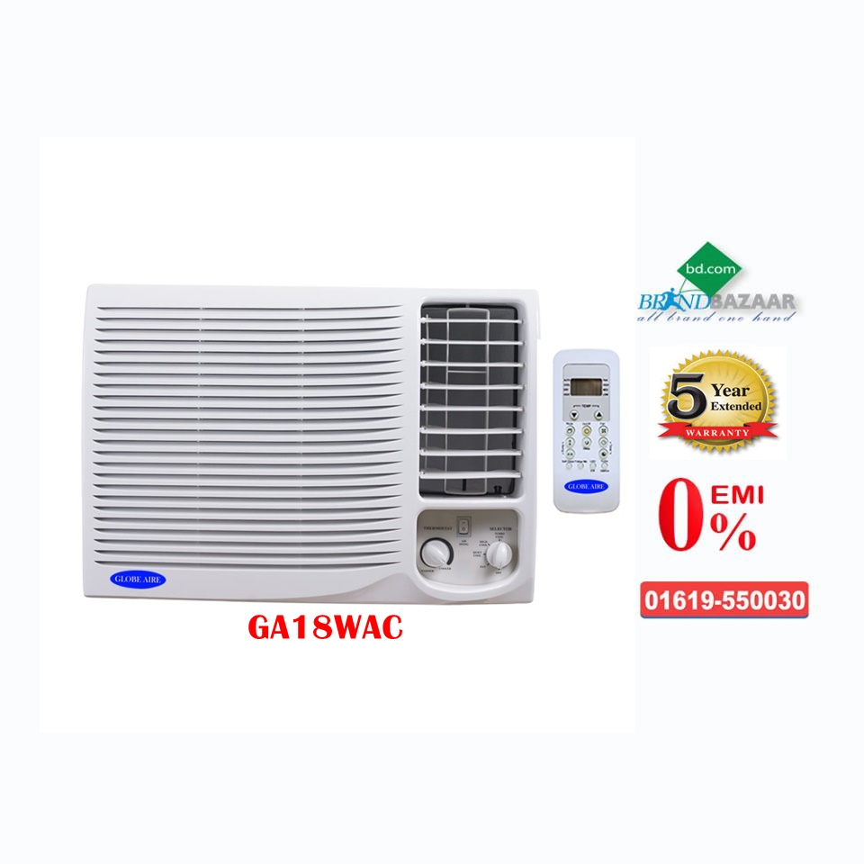 1.5 Ton Window AC Price in Bangladesh | Globe Aire