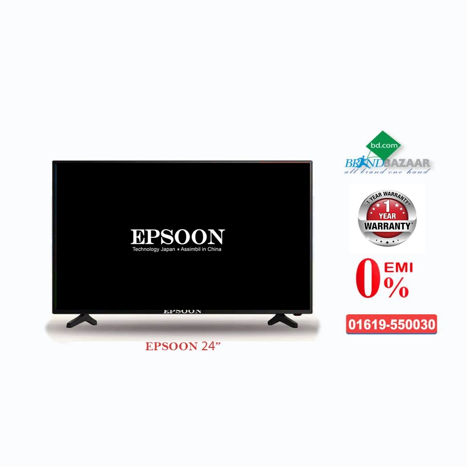 EPSOON Smile 24 inch HD LED TV Price in Bangladesh