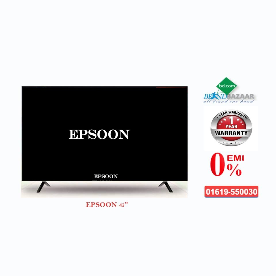 EPSOON 43 inch Smart LED TV Price in Bangladesh