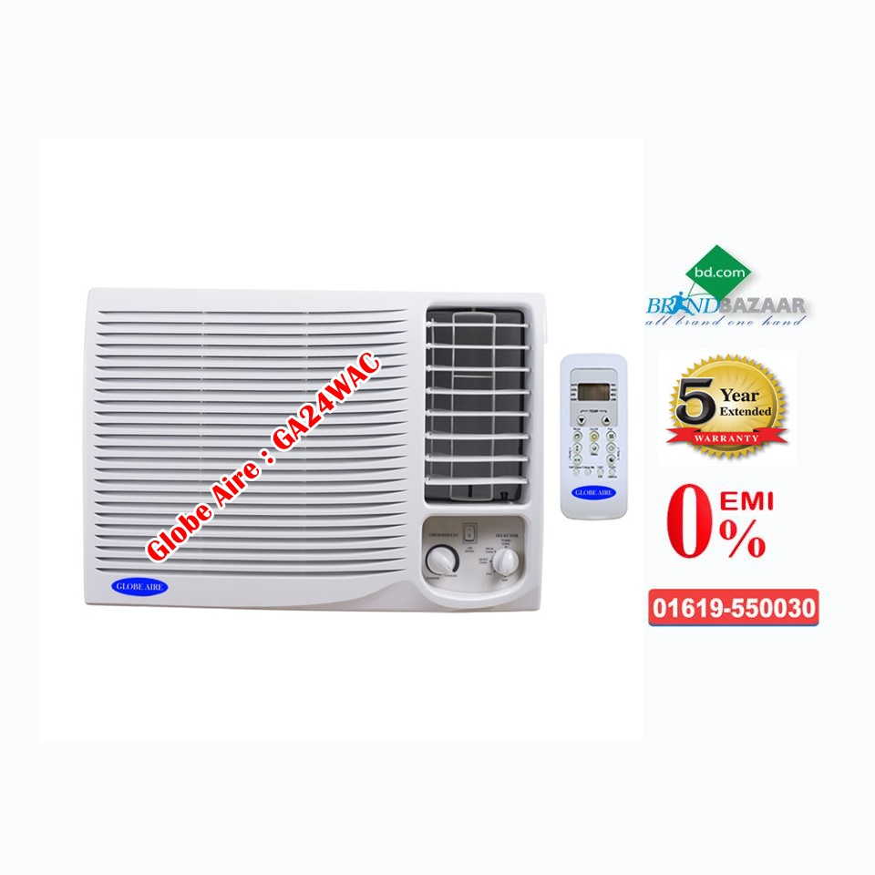 2.0 Ton Window AC Price in Bangladesh | Globe Aire