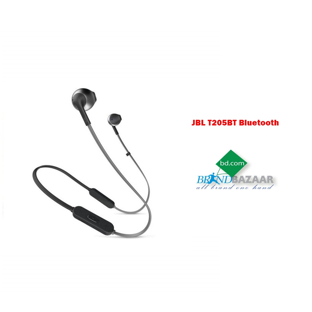 Jbl Bluetooth Earphone T205bt Price Bangladesh Brand Bazaar