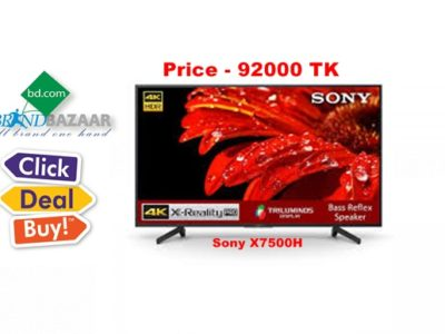 Sony BRAVIA KD-55X7500H 55 inch LED 4K TV Price in Bangladesh