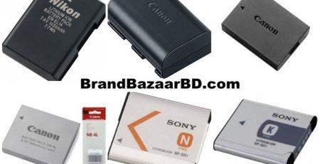 Camera Battery Price in Bangladesh | Online Store Brand Bazaar