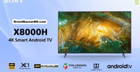 Sony Android 4K TV X8000H   85X8000H, 75X8000H, 65X8000H