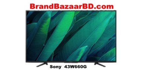 সনি ব্রাভিয়া ৪৩ ইঞ্চি স্মার্ট টিভি দাম (Sony Smart TV 43W660G)