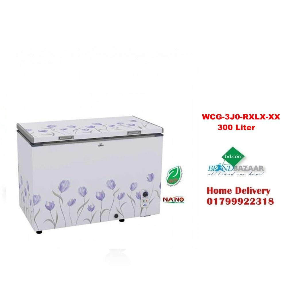 WCG-3J0-RXLX-XX 300 Liter Walton Freezer Price in Bangladesh
