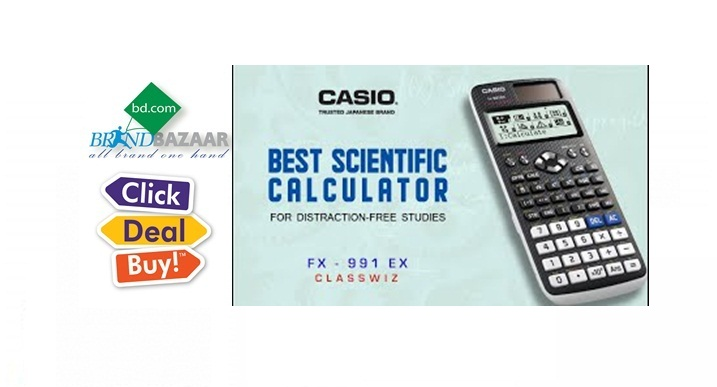 100% Original Casio Calculator Price in Bangladesh