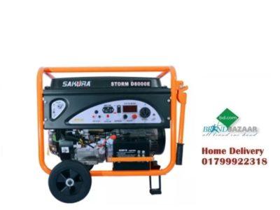 Storm D8000E-DF Sakura DUEL Fuel LPG Generator Black