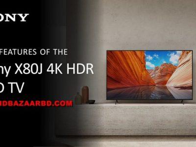 Sony X80J Google TV | 43X8000J, 49X8000J, 55X8000J, 65X8000J